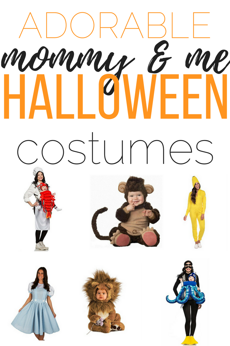cute and comfortable mommy and me halloween costumes