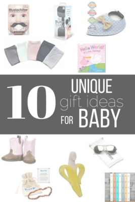 10 Unique Baby Gifts that are Sure to Please
